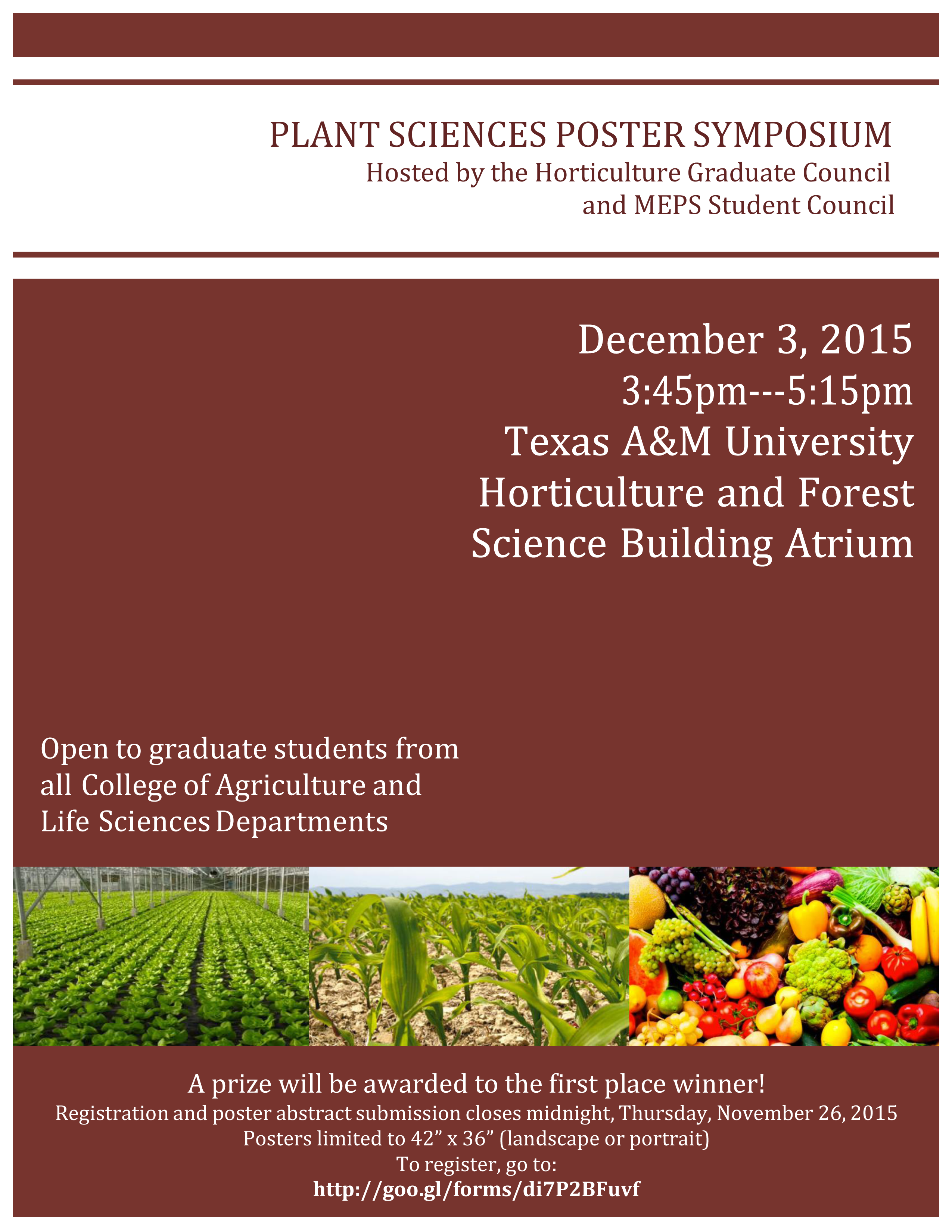hort grad council poster competition